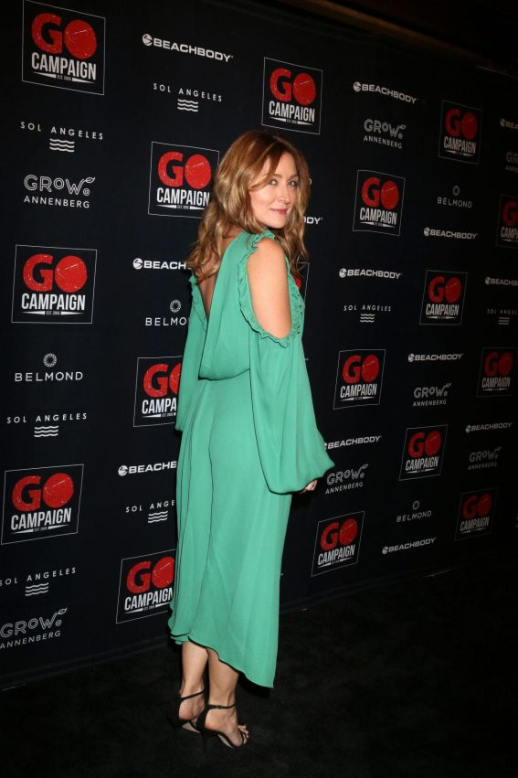 Sasha Alexander at GO Campaign Gala in Los Angeles 2018/10/20 1