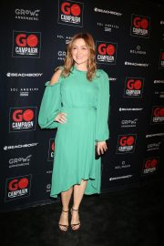 Sasha Alexander at GO Campaign Gala in Los Angeles 2018/10/20 3