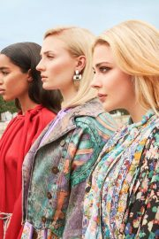Sophie Turner, Chloe Moretz and Laura Harrier for Louis Vuitton's 2018 Charlie's Angels 6