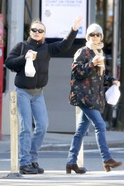 Vanessa Paradis and Lily-Rose Depp Out in New York 2018/10/19 2