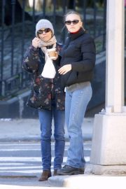 Vanessa Paradis and Lily-Rose Depp Out in New York 2018/10/19 3
