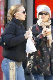 Vanessa Paradis and Lily-Rose Depp Out in New York 2018/10/19 5