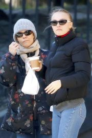 Vanessa Paradis and Lily-Rose Depp Out in New York 2018/10/19 6