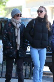 Vanessa Paradis and Lily-Rose Depp Out in New York 2018/10/19 7
