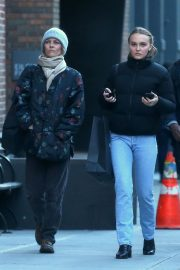 Vanessa Paradis and Lily-Rose Depp Out in New York 2018/10/19 8