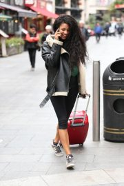 Vick Hope Out and About in London 2018/10/08 3