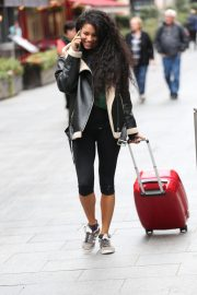 Vick Hope Out and About in London 2018/10/08 6