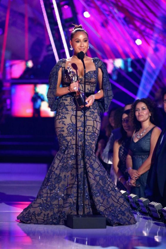 Adrienne Bailon at Almas 2018 Live on Fuse in Los Angeles 2018/11/04 1