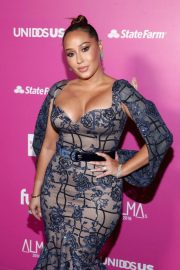 Adrienne Bailon at Almas 2018 Live on Fuse in Los Angeles 2018/11/04 7