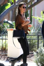 Alessandra Ambrosio at Petit Ermitage in West Hollywood 2018/11/14 1