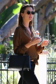 Alessandra Ambrosio at Petit Ermitage in West Hollywood 2018/11/14 7