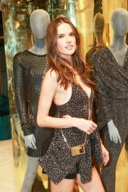 Alessandra Ambrosio at Rosa Cha Store Opening in Los Angeles 2018/11/02 2