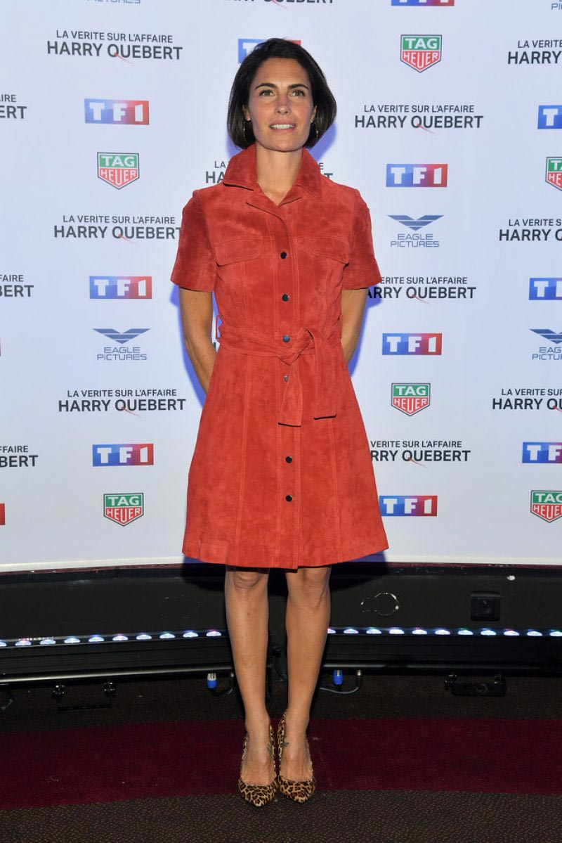 Alessandra Sublet at Truth About the Harry Quebert Affair Premiere in Paris 2018/11/12 1