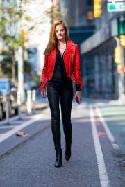 Alexina Graham at Victoria's Secret Fashion Show Fittings in New York 2018/11/04 1