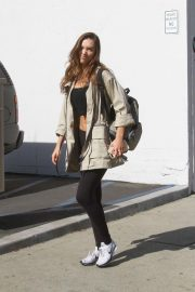 Alexis Ren at Dancing with the Stars Rehearsal in Los Angeles 2018/11/01 2