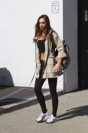 Alexis Ren at Dancing with the Stars Rehearsal in Los Angeles 2018/11/01 3