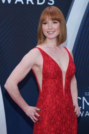 Alicia Witt at 2018 CMA Awards in Nashville 2018/11/14 2