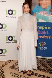 Allison Williams at 100 Women in Finance and Horizons 2018 National NYC Gala 2018/11/07 2