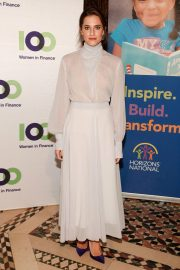 Allison Williams at 100 Women in Finance and Horizons 2018 National NYC Gala 2018/11/07 4