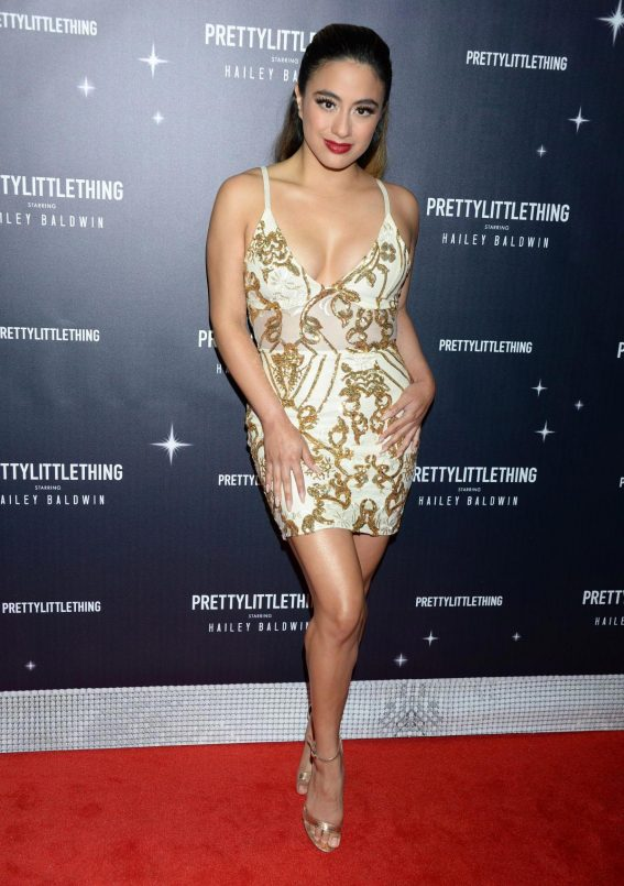 Ally Brooke at PrettyLittleThing Starring Hailey Baldwin Event in Los Angeles 2018/11/05 1