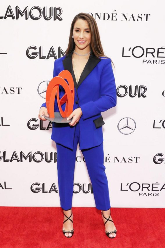 Aly Raisman at Glamour Women of the Year Summit: Women Rise in New York 2018/11/11 1
