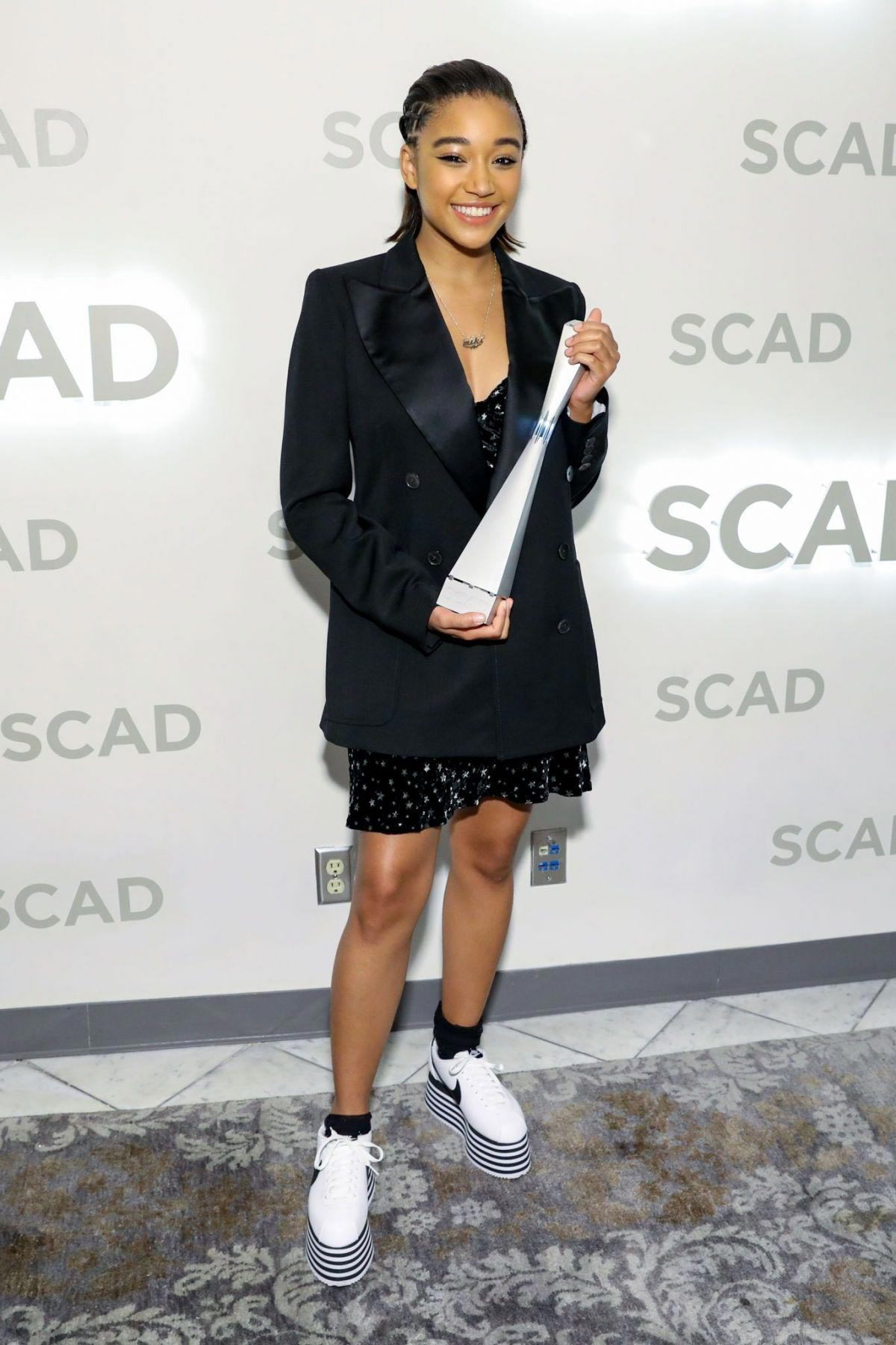 Amandla Stenberg at Rising Star Award at Scad Savannah Film Festival 2018/11/02 1
