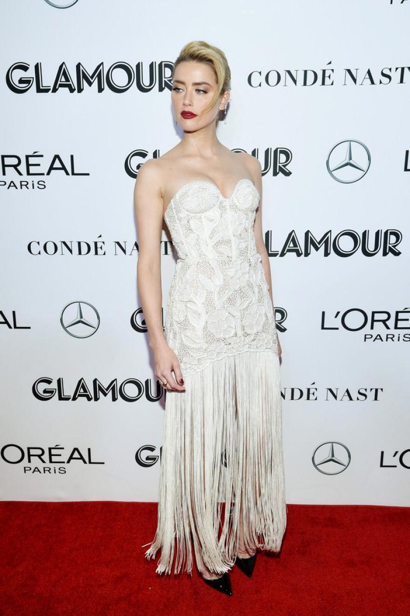 Amber Heard at Glamour Women of the Year Summit: Women Rise in New York 2018/11/11 1