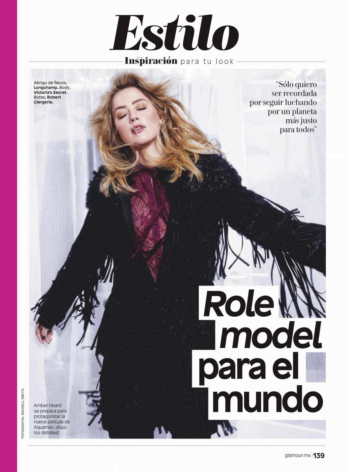 Amber Heard in Glamour Magazine, Mexico December 2018 1