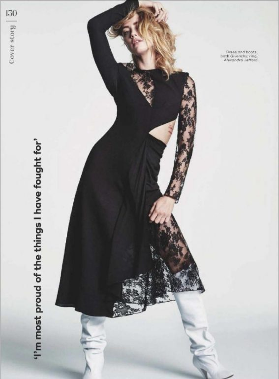 Amber Heard in Marie Claire Magazine, UK December 2018 1