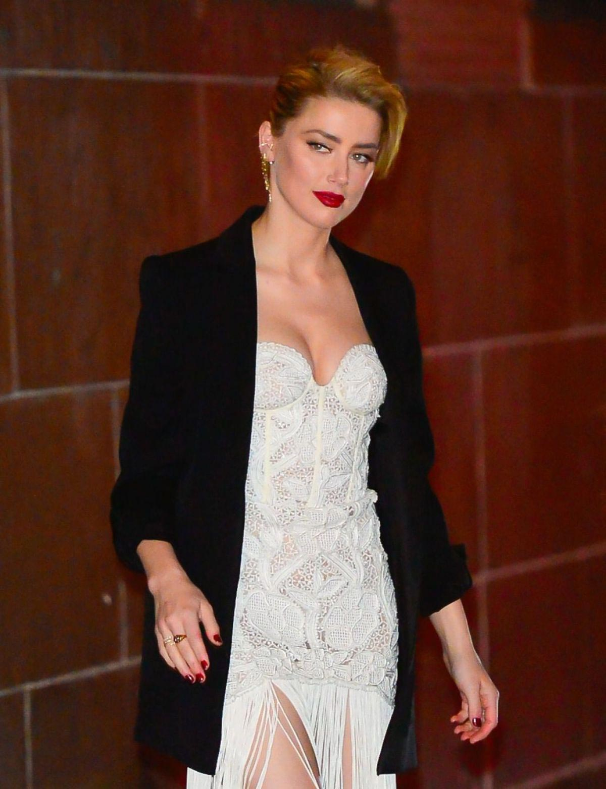 Amber Heard Out and About in New York 2018/11/12 1