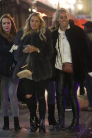 Amber Turner and Chloe Meadows Night Out in London 2018/11/23 2