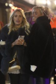 Amber Turner and Chloe Meadows Night Out in London 2018/11/23 3