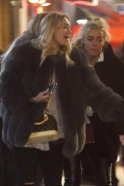 Amber Turner and Chloe Meadows Night Out in London 2018/11/23 5