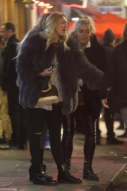 Amber Turner and Chloe Meadows Night Out in London 2018/11/23 6