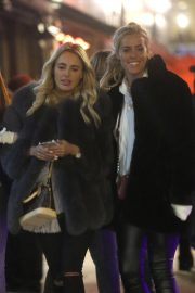 Amber Turner and Chloe Meadows Night Out in London 2018/11/23 9