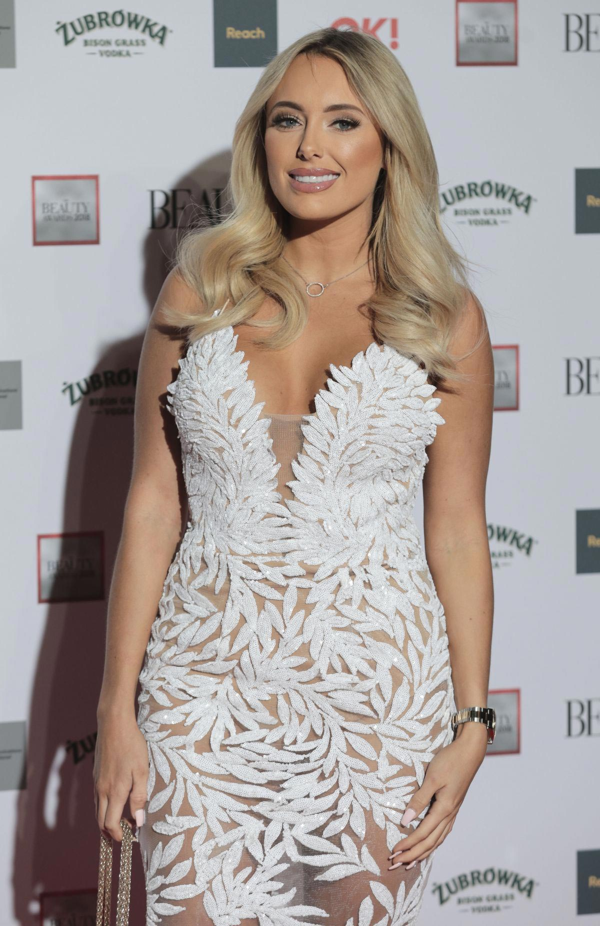 Amber Turner at Beauty Awards 2018 in London 2018/11/26 1