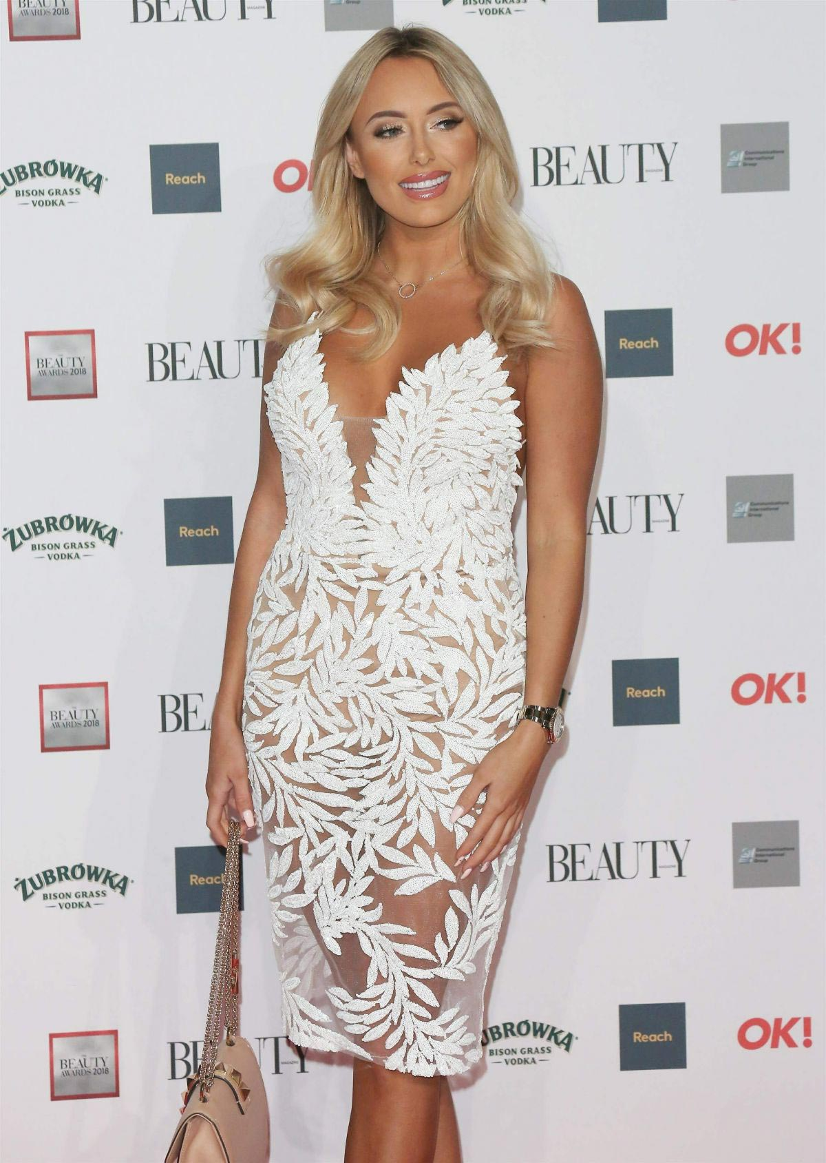 Amber Turner at Beauty Awards with OK! 2018 in London 2018/11/26 1