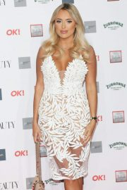 Amber Turner at Beauty Awards with OK! 2018 in London 2018/11/26 8