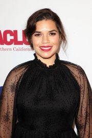America Ferrera at ACLU Bill of Rights Dinner in Beverly Hills 2018/11/11 5