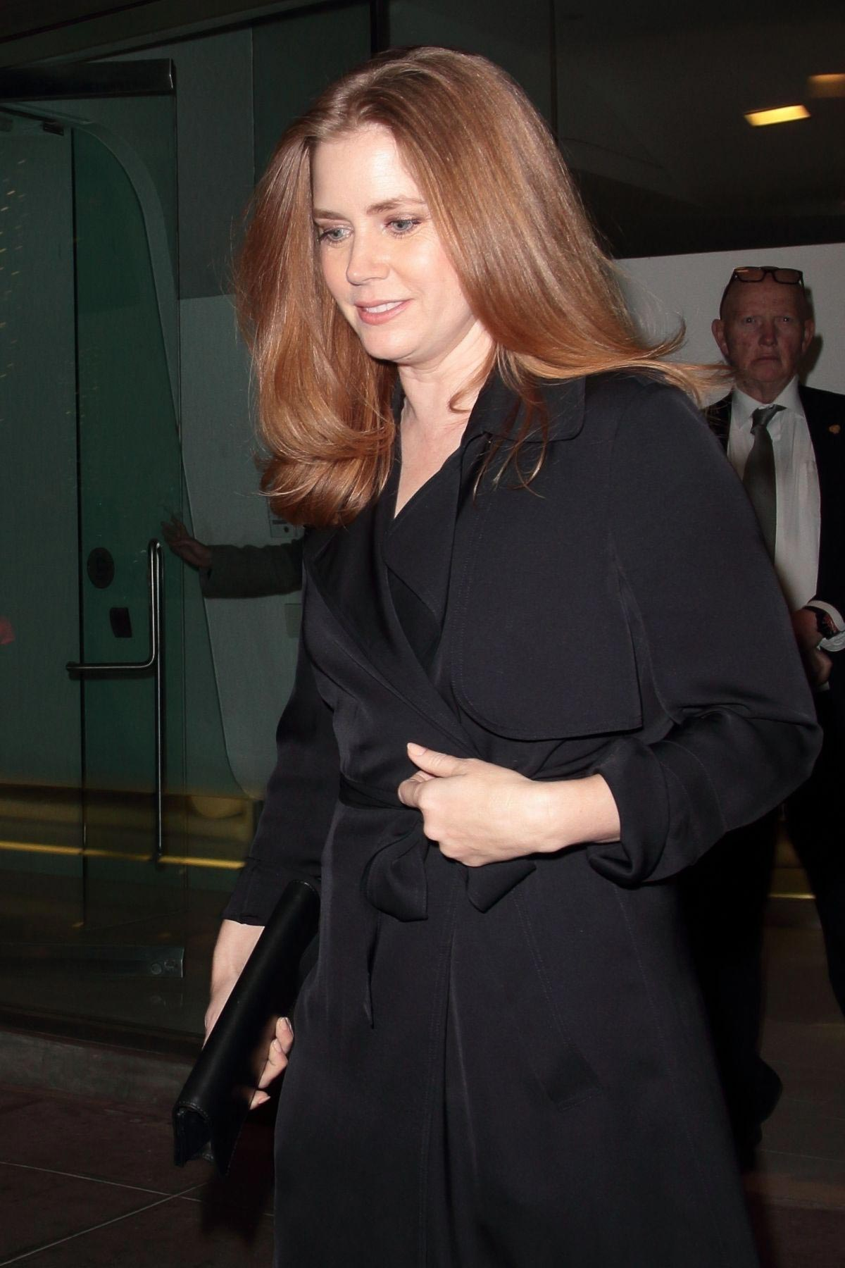 Amy Adams at a Private Theatre in Beverly Hills 2018/11/16 1