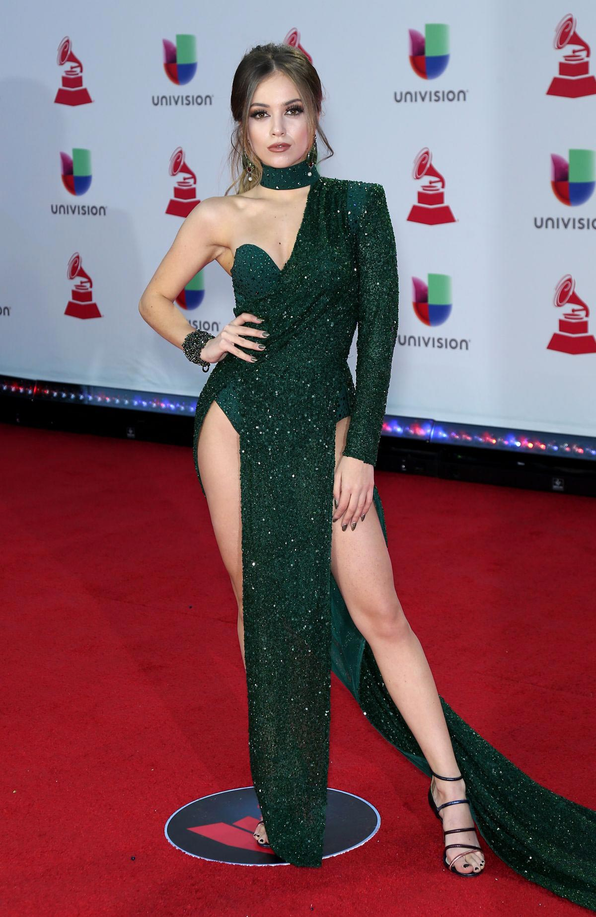 Ana Mena at 2018 Latin Grammy Awards in Las Vegas 2018/11/15 1