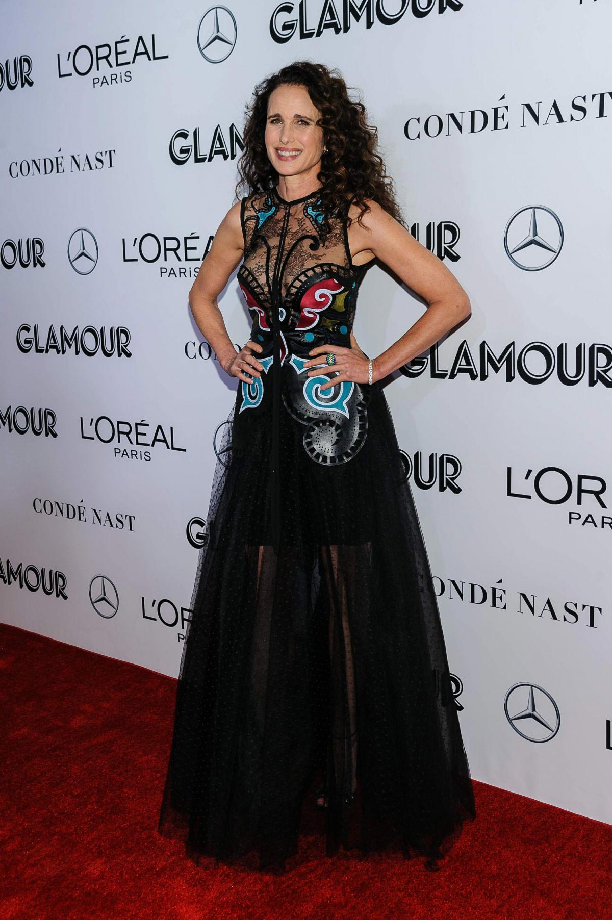 Andie MacDowell at Glamour Women of the Year Summit: Women Rise in New York 2018/11/11 1