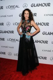 Andie MacDowell at Glamour Women of the Year Summit: Women Rise in New York 2018/11/11 2