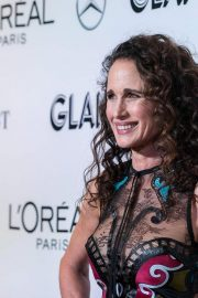 Andie MacDowell at Glamour Women of the Year Summit: Women Rise in New York 2018/11/11 4