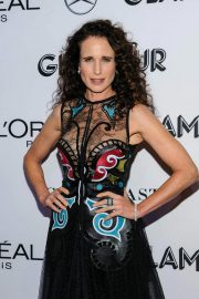 Andie MacDowell at Glamour Women of the Year Summit: Women Rise in New York 2018/11/11 6