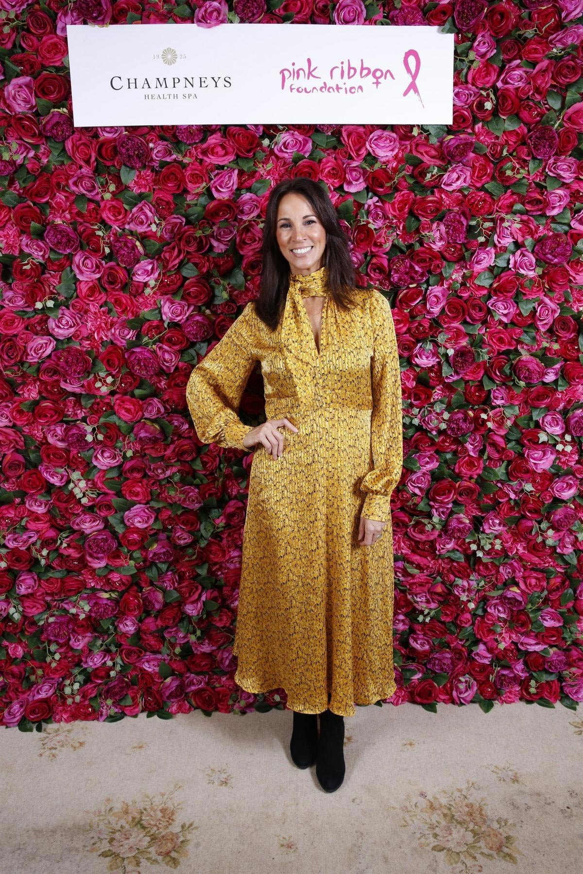 Andrea McLean at Pink Ribbon Foundation Ladies Lunch in London 2018/11/28 1