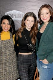 Anna Kendrick at The Unauthorized Parody of Stranger Things in Los Angeles 2018/11/03 4