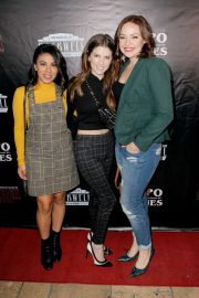 Anna Kendrick at The Unauthorized Parody of Stranger Things in Los Angeles 2018/11/03 5