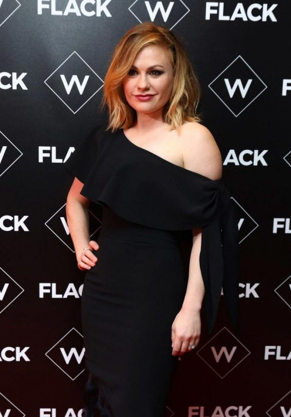 Anna Paquin at Flack UKTV Premiere in London 2018/11/13 1