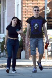 Ariel Winter and Levi Meaden Out in Studio City 2018/11/15 2